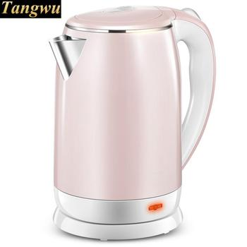 electric kettle is powered by a 304 stainless steel