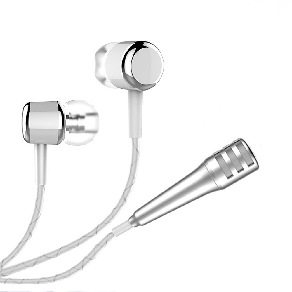 Prix pour 100 pcs Portable Mini Parfum Condenseur Microphones et Écouteurs pour iPhone 6 7 Samsung Xiaomi Mi Téléphone Chant Enregistrement Audio