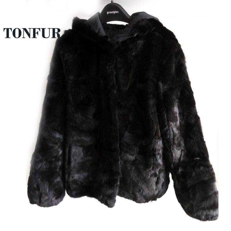 أعلى جودة المصنع مباشرة بالجملة خصم منخفض 100% نقية حقيقية المنك معطف الفرو الحقيقي المنك معطف الفرو WSR136-في فراء حقيقي من ملابس نسائية على  مجموعة 1