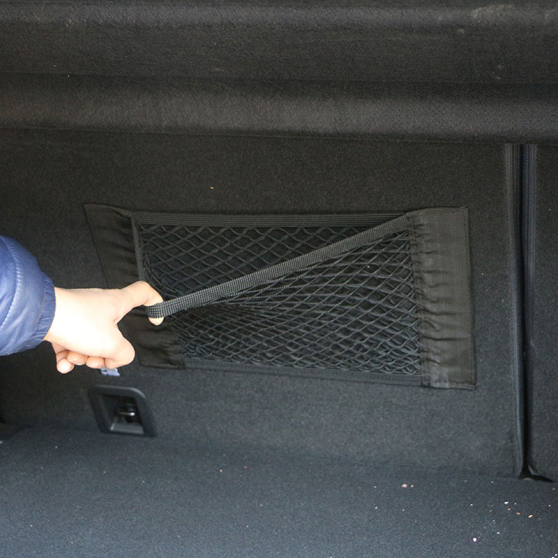 Car Trunk Box Storage Bag Net Accessories Sticker For Mercedes Benz W201 A Class GLA W176 CLK W209 W202 W220 W204 W203 W210 W124