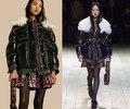 2016 incrível das Mulheres jaqueta de inverno, jaqueta de colarinho de lã das Mulheres, mulheres casaco de inverno preto, quente roupas para baixo casaco abrigos mujer