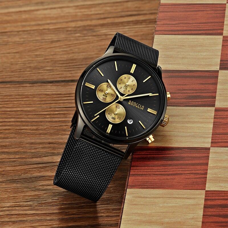 BAOGELA Χρονογράφος Νέο ρολόι χαλαζία - Ανδρικά ρολόγια - Φωτογραφία 4