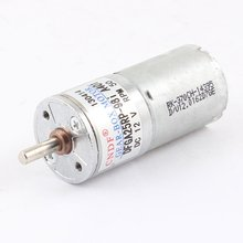 UXCELL 50RPM 12V High Torque Cylinder Magnetic Mini DC Gear Reduced Motor