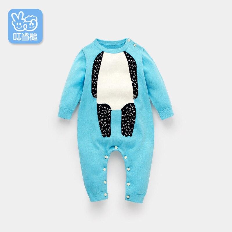 Dinstry'nin yeni bir körpə bow baby jumpsuit, oğlan və qızlar - Körpələr üçün geyim - Fotoqrafiya 6