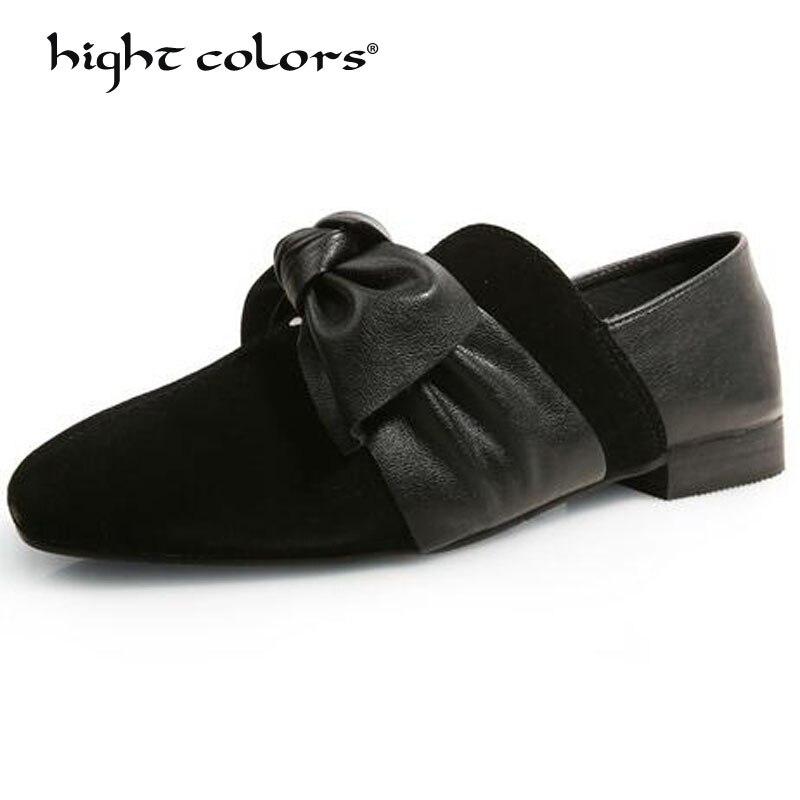 Nouveau 2019 printemps/automne femmes microfibre mocassins ballerines kaki noir chaussures dames sans lacet mocassins bateau chaussures mocassins G6-1