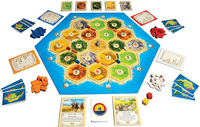 Hot!Catan Board Game Family Fun Playing Card Game Educational Theme English Fun Cards Game Indoor Table Party Game free shipping