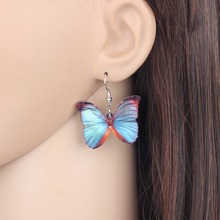 Butterfly Shaped Drop Earrings for Girls