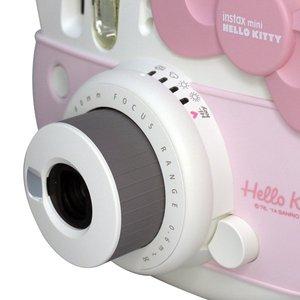 Image 2 - Розовая фотопленка Fujifilm Instax Mini Hello Kitty, лимитированная серия, 10 пленок Instax, чехол для камеры из ПУ, наклейка