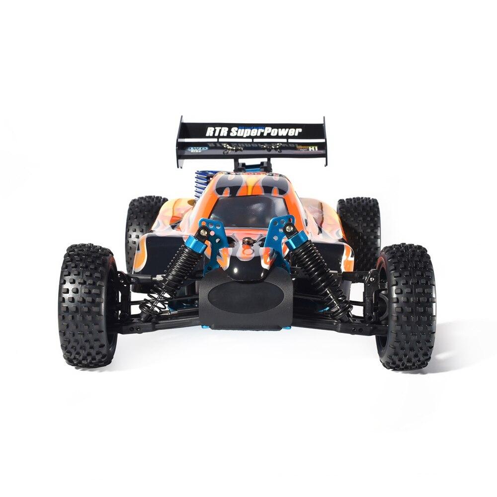 HSP RC Auto 1:10 Bilancia 4wd RC Giocattoli A Due Velocità Off Road Buggy Nitro Gas Power 94106 Testata Ad Alta Velocità hobby di Controllo Remoto Auto - 2