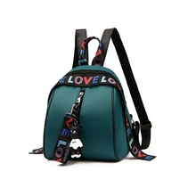 Backpack Female 2019 new Version of The Tide Oxford Cloth Small Ladies Nylon Wild Fashion Canvas Bag Student School