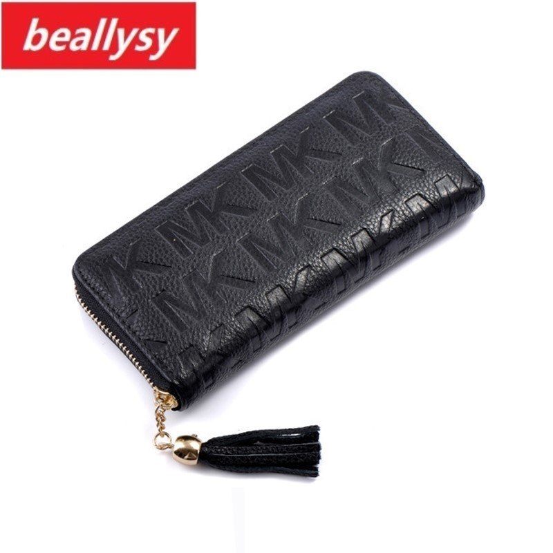 Letter Zip Around Wallet genuine leather Long Fashion Women Wallets Designer Brand Purse Lady Party Wallet Female Card Holder new purse women wallets women s card holder female coin clutch famous brand designer long wallet women purse lady bowknot wallet