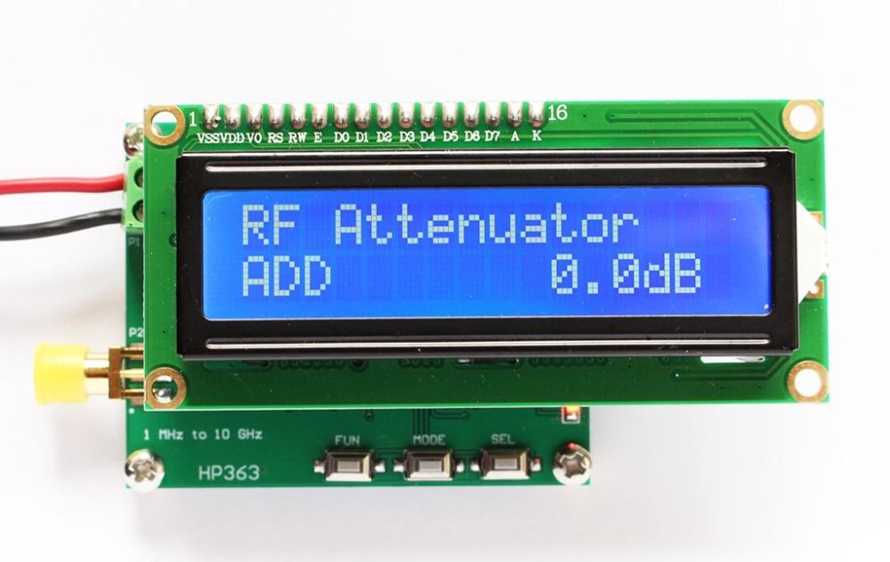Intelligent Digital RF Power Meter 1MHz to 10GHz 50 to 0dBm RF Signal Measuring Meter Module