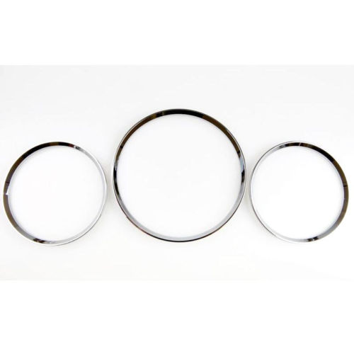 Prix pour Chrome Styling Dashboard Ring Gauge Set Pour Mercedes Benz W163 Classe ML