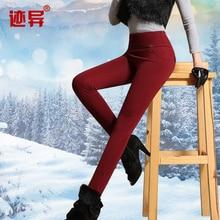 New Nice Winter Leggings women's Fashion Thick Plus Velvet Elastic Leggings Big Size Trousers Pencil Pants Jeans XXXXL S1838