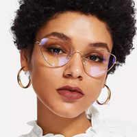 Óculos de olho de gato quadro feminino 2019 moda limpar óculos lente miopia óculos ópticos quadro oculos feminino occhiali da vista donna