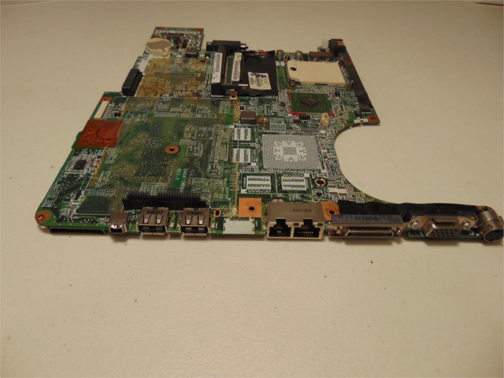 SHELI laptop Motherboard for hp dv9000 notebook mainboard 459565-001 DA0AT1MB8H0 DDR2 Full Tested sensor at v500 at 005vh tested ok