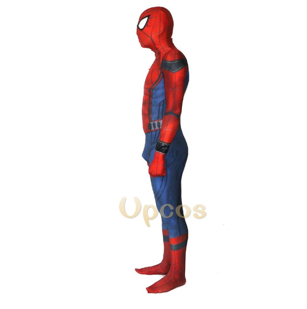 Новый фильм Человек-паук выпускников Дети/взрослый человек-паук 3D Тенты спандекс Косплэй Zentai костюм