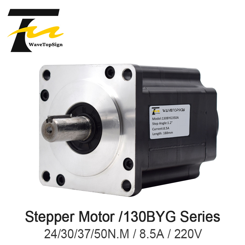 NEMA52 130BYG Series 3 Phase Mixed Type Stepper motor 24N.M 30N.M 37N.M 50N.M 130 Stepper motor MiniatureNEMA52 130BYG Series 3 Phase Mixed Type Stepper motor 24N.M 30N.M 37N.M 50N.M 130 Stepper motor Miniature