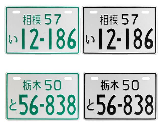 Decorative License Plates Painting