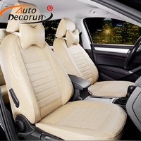 PU Leather Car Seat Covers Fit For Land Rover Discovery 3 Seat Cover Accessories Dedicated Covers
