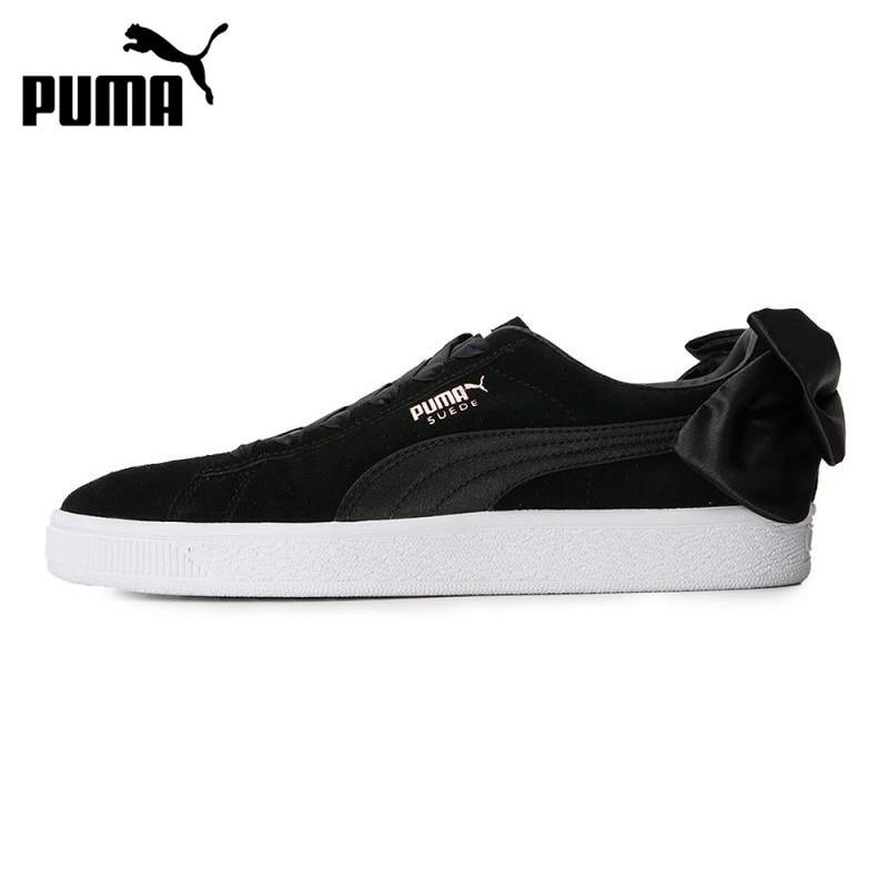 Nouveauté originale PUMA daim nœud Wns chaussures de skate femme baskets