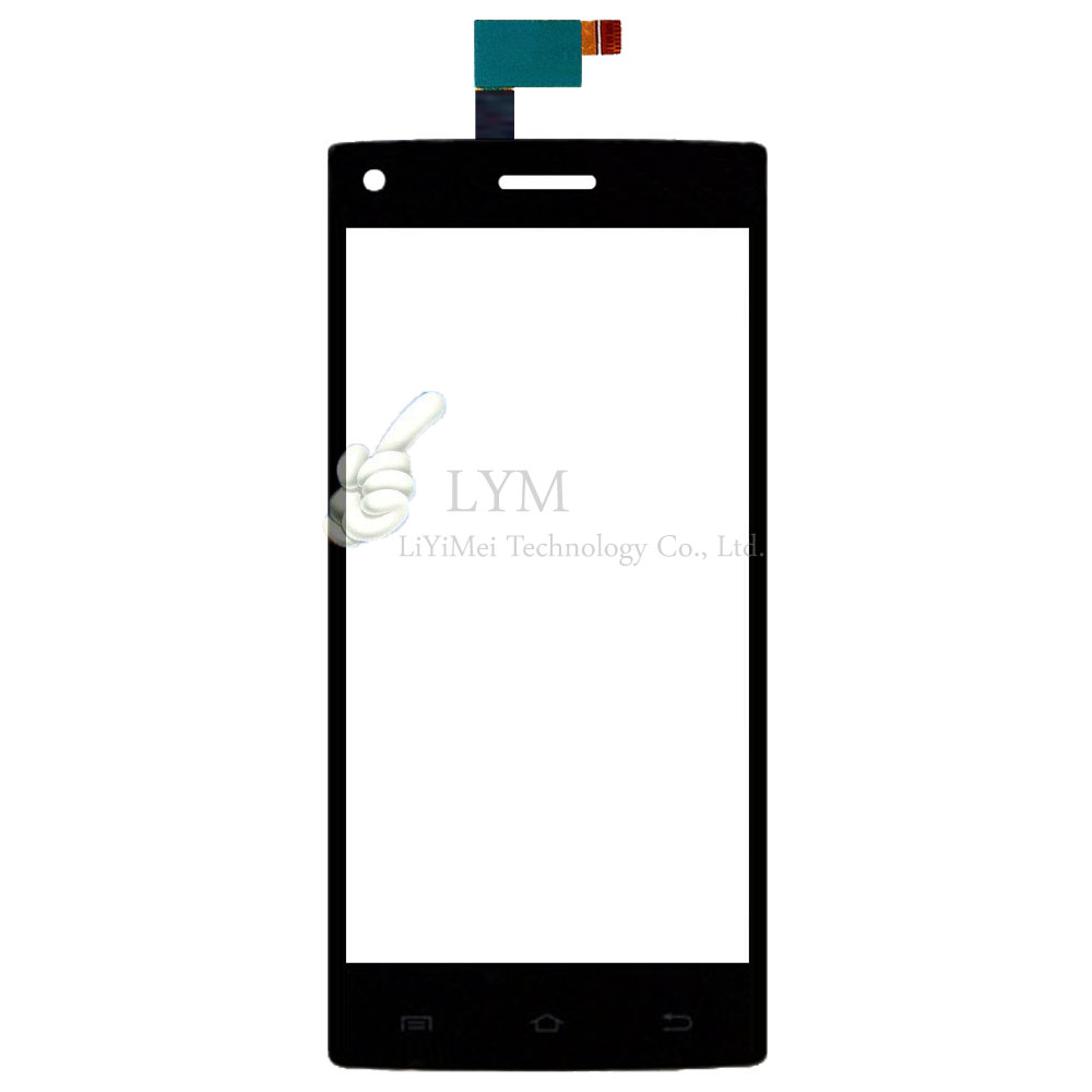 Black TP for DNS S5003 5003 Touch Screen Digitizer Glass Panel Sensor No LCD Display Smartphone