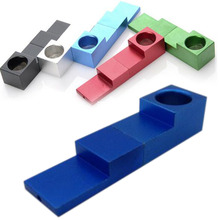 New Mini Foldable Magnetic Whistle Smoking Pipe Traveling Pocket Tobacco