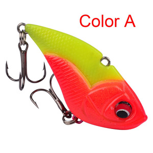 Image 3 - 1Pcs High Quality Crank Metal Vibration Lures 50mm 13g  With Lead Inside Fishing VIB Lure Sinking Artificial Vibrator Bass Bait