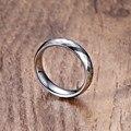 Vnox hombres anillos de bodas de alta calidad rombo 5mm carburo tungsten anillos para hombres joyería ee.uu. tamaño