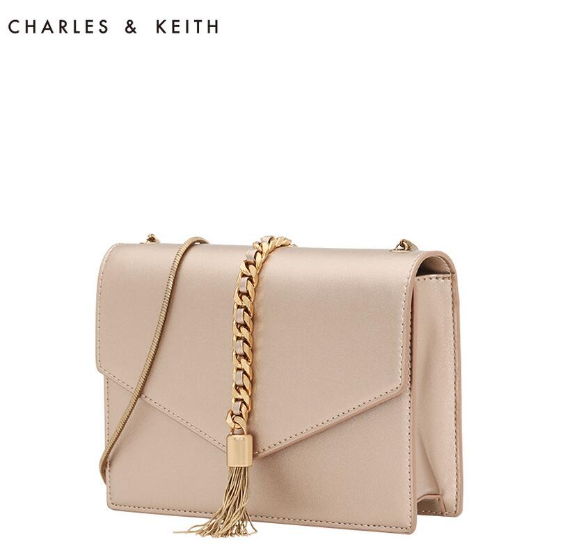 Charles Keith Women Messenger Bags Evening Clutch Wallet For Fashion Purse Handbag Tassel Wedding Party In Shoulder From Luggage