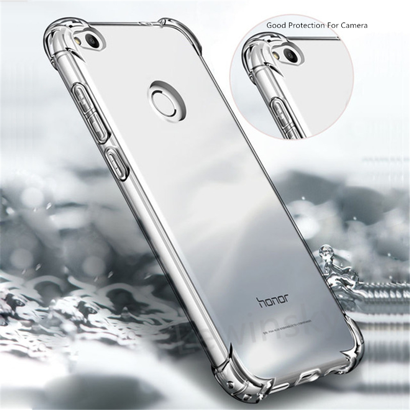 <font><b>Case</b></font> On for <font><b>Huawei</b></font> P8 P9 P10 lite 2017 Mate 9 10 Pro lite Nova 2 2i <font><b>Honor</b></font> 6A 6X <font><b>7X</b></font> 9 6C 8 Pro <font><b>Case</b></font> Shockproof TPU Clear <font><b>Silicone</b></font> image