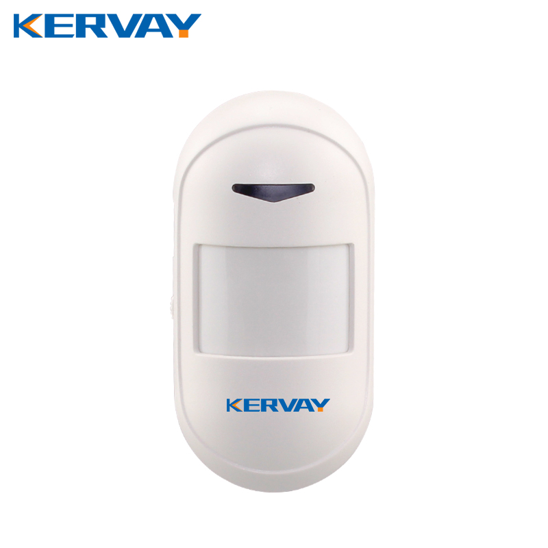 Kervay 433mhz wireless PIR Motion sensor support USB Power supply Interlligent security Infrared Detector for Our alarm system wireless pir motion detector sensor 433mhz for our alarm system free shipping