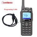 + Кабель! двойной Режим TDMA цифровой/Аналоговый DMR Радио Anysecu DM-960 УКВ 3000 мАч Совместимость с MOTOTRBO лучше, чем TYT MD380/MD390