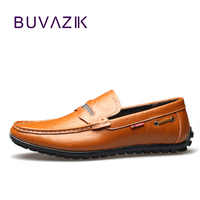 2017 Man Leather Casual Shoes Brand Casual Italian Style Men S Driving Shoes Genuine Leather Loafers