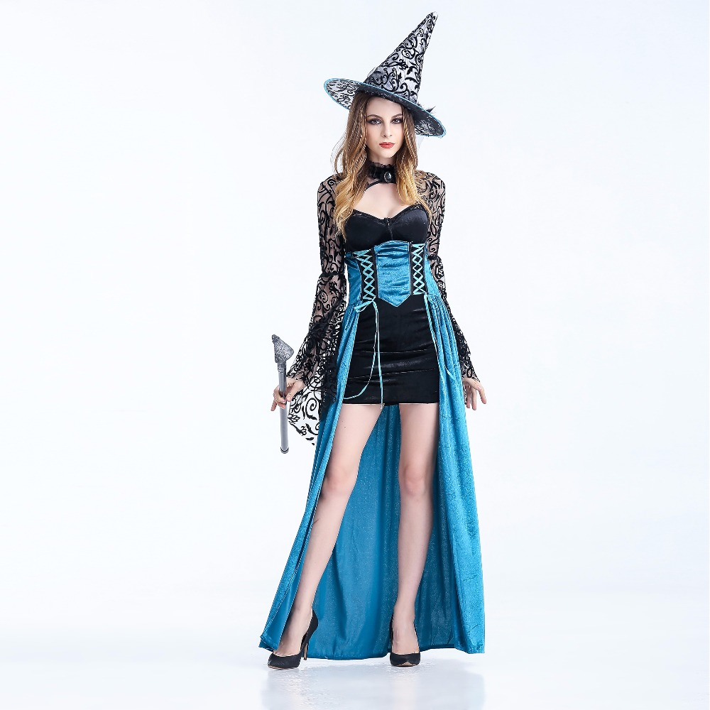 The Wizard of Oz witch cosplay Adult Womens Magic Moment Costume ...