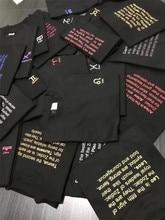 """12 žvaigždynų """"Vetement"""" marškinėliai Vyrai Moterys 1: 1 Aukštos kokybės vasaros stilius T marškiniai Hiphopas """"Top Tee"""" """"Fashion Vetements"""" marškinėliai"""