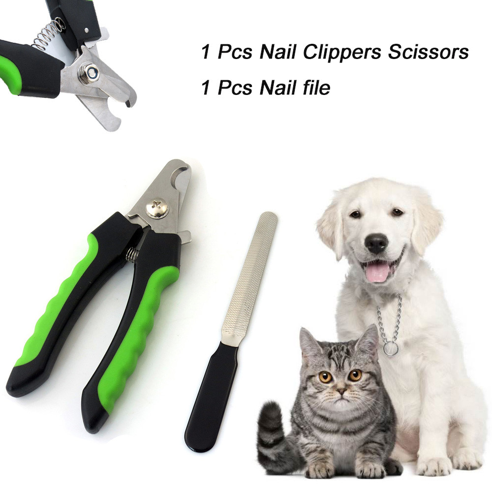 ISHOWTIENDA Stainless Steel Ergonomic Handles Claw Nail Clippers For ...