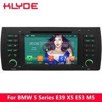 KLYDE 4 г Octa Core PX5 Android 8,0 4 Гб Оперативная память 32 GB Встроенная память Автомобильный DVD плеер для BMW M5 E39 1995 1996 1997 1998 1999 2000 2001 2002 2003