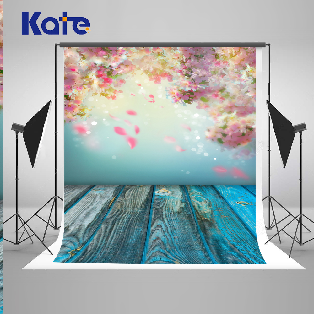 ФОТО 10X10ft Kate Floral Background Scenic Photo Backdrops Wedding Curtain Backdrops Wood Baby Photography Boda Photocall
