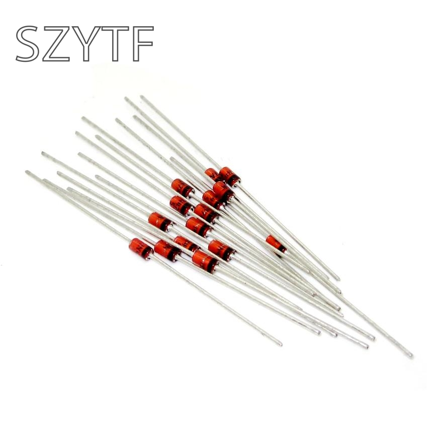 100pcs/lot Zener Diodes 1N4746A 1W 18V <font><b>1N4746</b></font> Single 5% 2-Pin DO-41 image