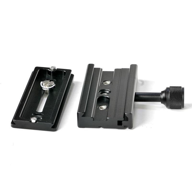 Hochwertige QR120-Klammer für Schnellwechselplatte Kompatibel mit - Kamera und Foto - Foto 3
