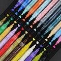 Набор цветных карандашей для воды 12/24 цветные акриловые ручки для рисования Карандаши Канцелярские Канцтовары для офиса и школы принадлежн...