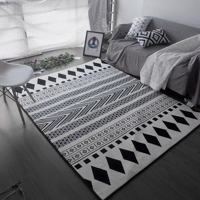 kingart big size carpet sofa antique carpet thick floor