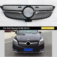 GOLFLIATH diamond grille Suitbale for Mercedes Benz GLE W166 2015 2016 2017 front mesh front grille GLE gle400 gle450