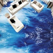 Sea Water Ripple 3D Floor Sticker Mural