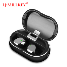 TWS 5.0 Wireless Bluetooth Earphone Stereo Earbud Headset With Charging Box For All Bluetooth tablet Smart phone earphone YZ278 tws 5 0 wireless bluetooth earphone stereo earbud headset with charging box for all bluetooth tablet smart phone earphone yz268