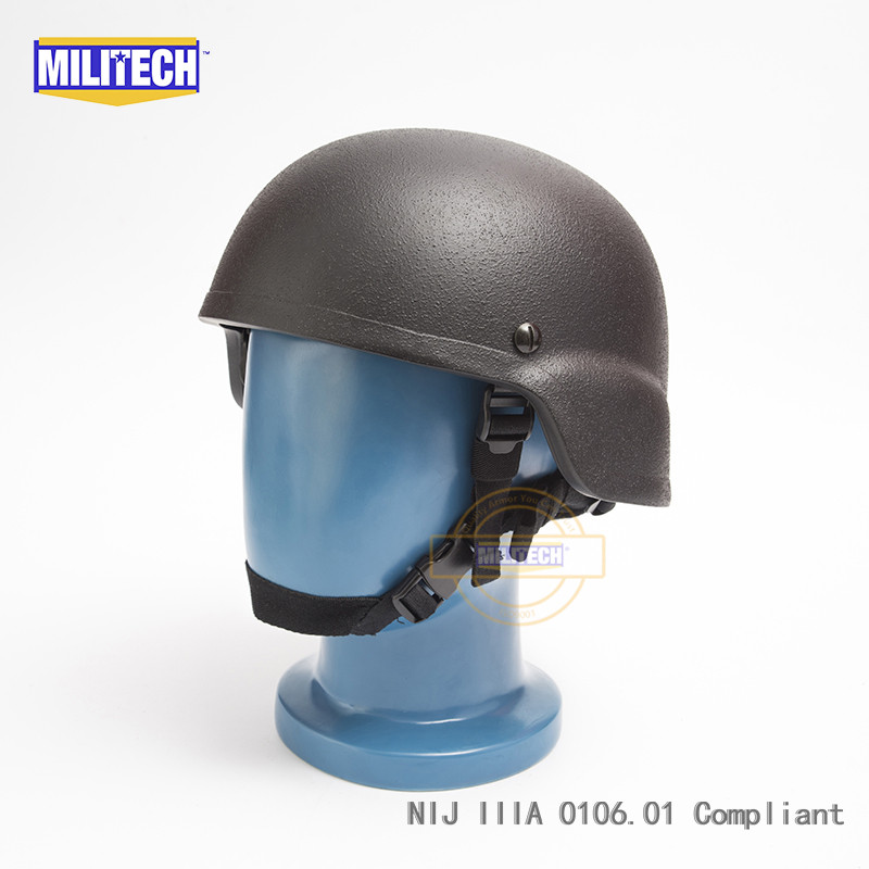 Friendly Militech Black Nij Iiia 3a Mich Infantry Bullet Proof Helmet Aramid Ballistic Helmet Bulletproof Mitch 2000 With Test Report Back To Search Resultssecurity & Protection