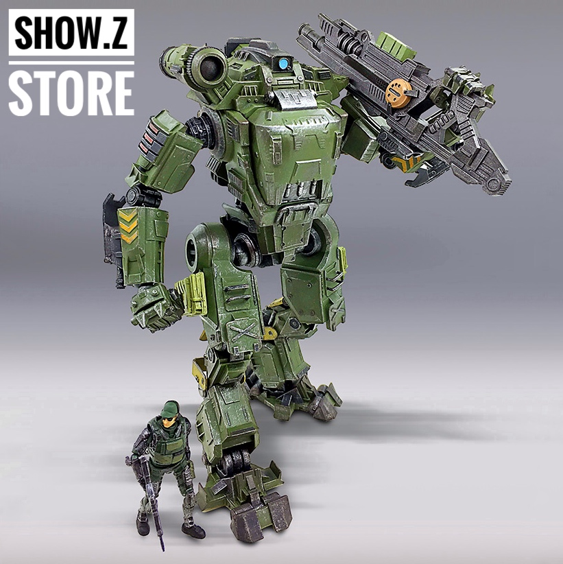 все цены на [Show.Z Store] JoyToy Source Acid Rain UNF Zous Mecha Green Version Action Figure онлайн