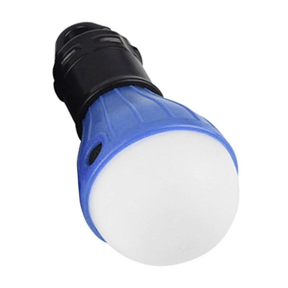 Mini Camping Tool Portable Lantern Tent Light LED Bulb Waterproof Hanging Hook Flashlight For Camping