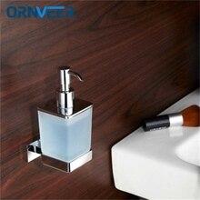 Free Shipping/SAMOEL Modern chrome liquid soap stand retro brass wall - mounted ceramic bathroom accessories